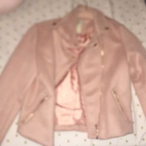 Girls pink jacket
